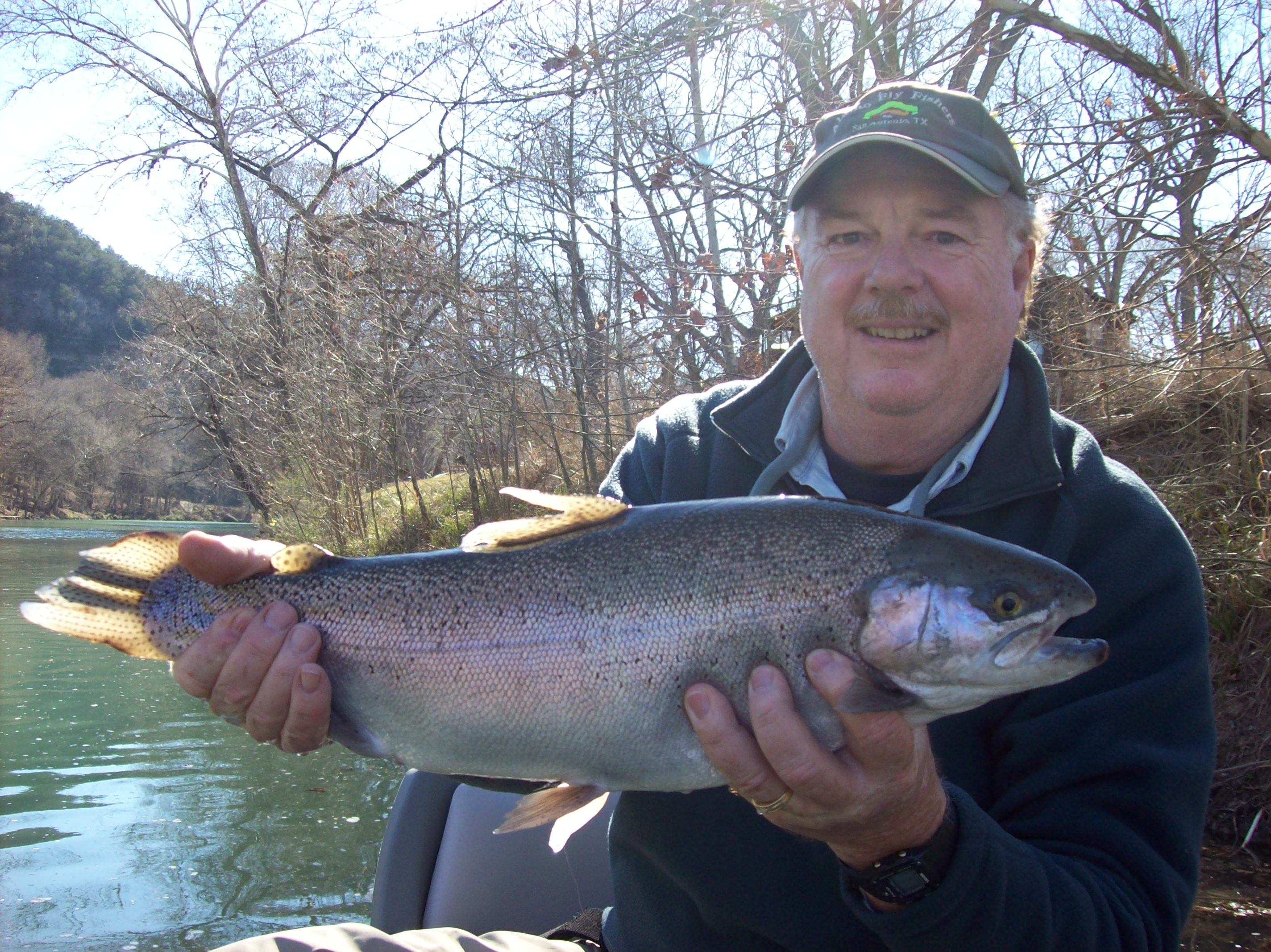 Guadalupe Trout Fly  Fishing Austin San Antonio Texas