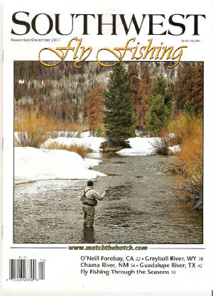 Southwest Fly Fishing Guadalupe River Feature story Nov/Dec